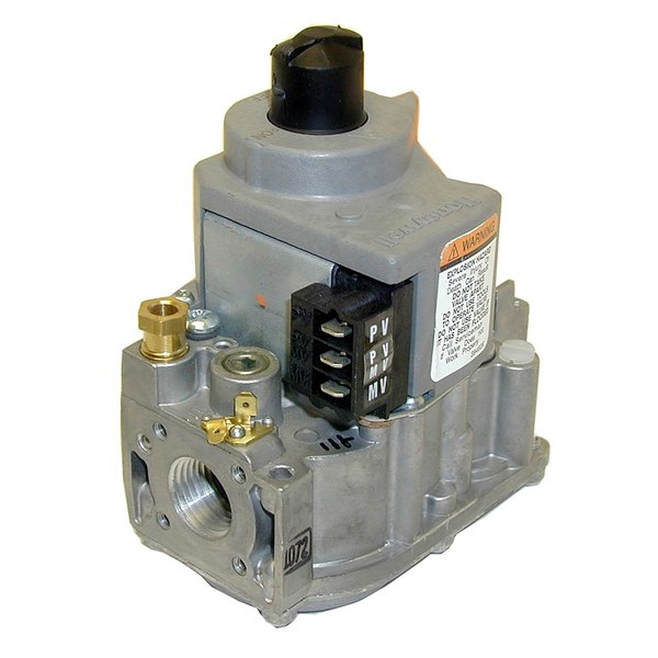 """All Points 54-1091 Safety Valve; Natural Gas; 1/2"""" Gas In / Out; 3/16"""" Pilot Out"""