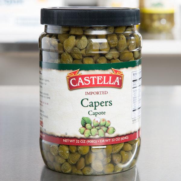 Capotes Capers 32 oz. Bottles - 6/Case
