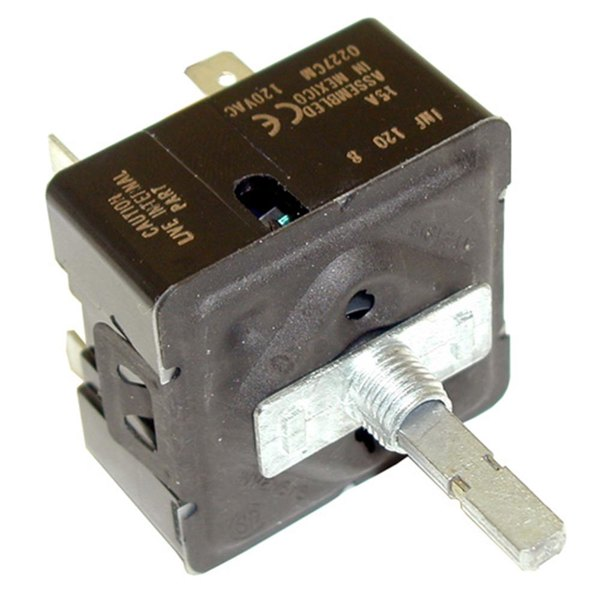 All Points 42-1419 Infinite Heat Control Switch - 120V Main Image 1