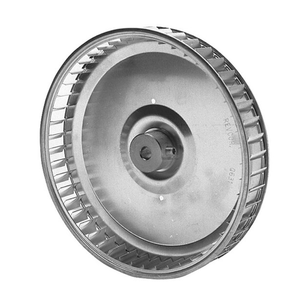 "Groen 96790 Equivalent Blower Wheel - 6 1/4"" x 1"", Clockwise"
