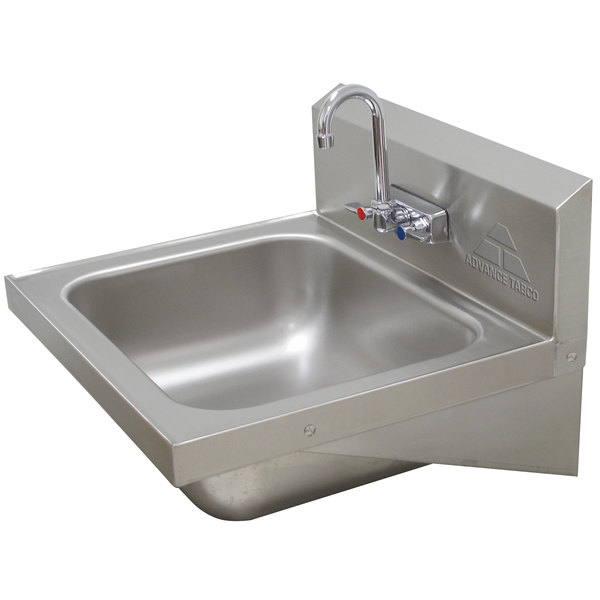 "Advance Tabco 7-PS-45 Hand Sink - 24 3/4"" x 21 7/8"""