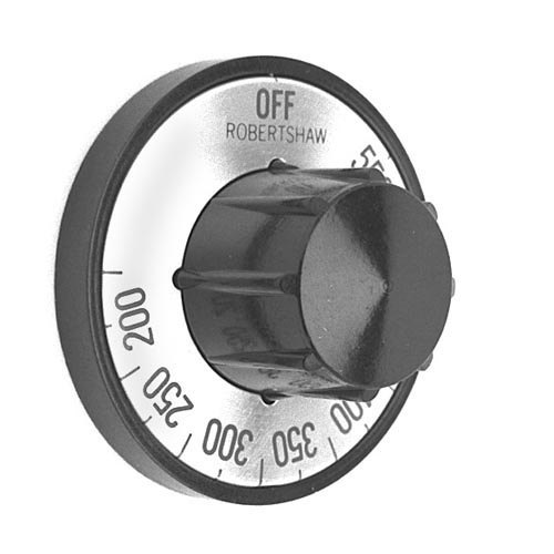 """All Points 22-1007 2"""" Broiler / Oven Thermostat Dial (Off, 200-550) Main Image 1"""
