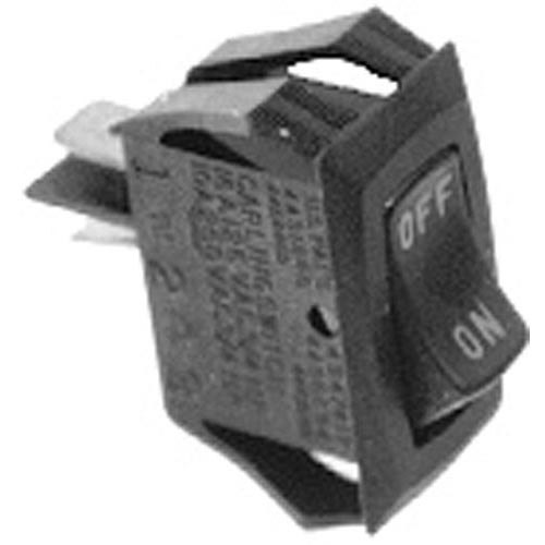 All Points 42-1663 On/Off Rocker Switch - 10A/250V, 16A/125V Main Image 1