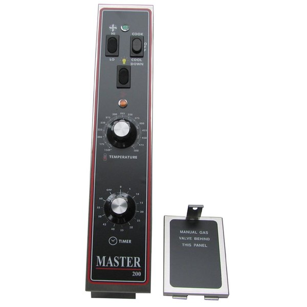 """All Points 46-1391 Master 200 Series Control Panel Assembly with Fuse Panel Cover - 4 1/8"""" x 22 3/8"""""""