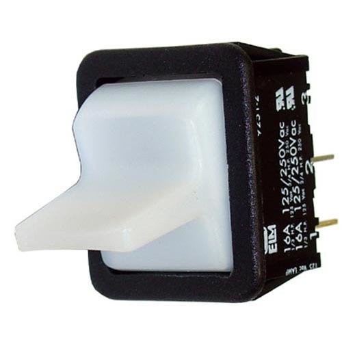 All Points 42-1496 Momentary On Rocker Toggle Switch - 16A, 125/250V Main Image 1