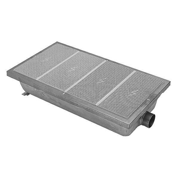 "Garland / US Range 1542800 Equivalent 15"" x 8 1/2"" Infrared Steel / Ceramic Broiler Burner Main Image 1"