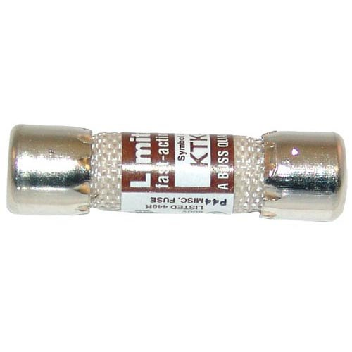 """All Points 38-1435 13/32"""" x 1 1/2"""" 25A Fast Acting KTK-25 Glass Fuse - 600V"""