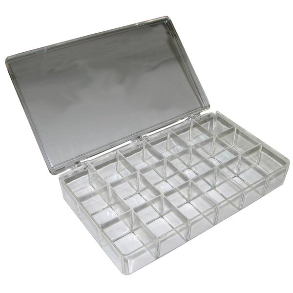 sc 1 st  WebstaurantStore & All Points 85-1082 18 Compartment Clear Plastic Storage Box