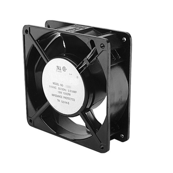 """All Points 68-1059 4 11/16"""" x 4 11/16"""" Axial Fan - 3100 RPM, 120V, 15W Main Image 1"""