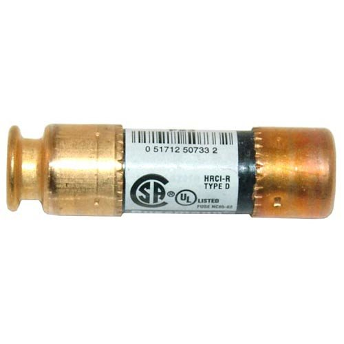 "All Points 38-1420 13/32"" x 2"" 25 Amp RK5 Dual Element Time Delay Fuse - 250V"