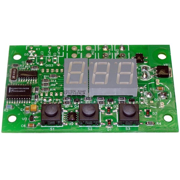All Points 42-1490 Digital Timer Board with 3 Push Button Switches