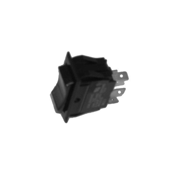 All Points 42-1233 On/Off/On Lighted Rocker Switch - 10A/250V, 15A/125V Main Image 1