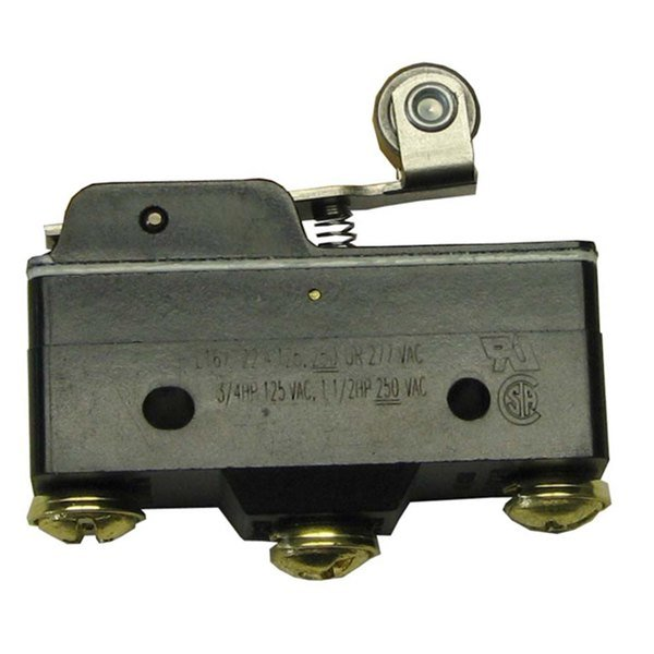 All Points 42-1559 Momentary On/Off Micro Roller Door Switch - 22A/125, 250/277V
