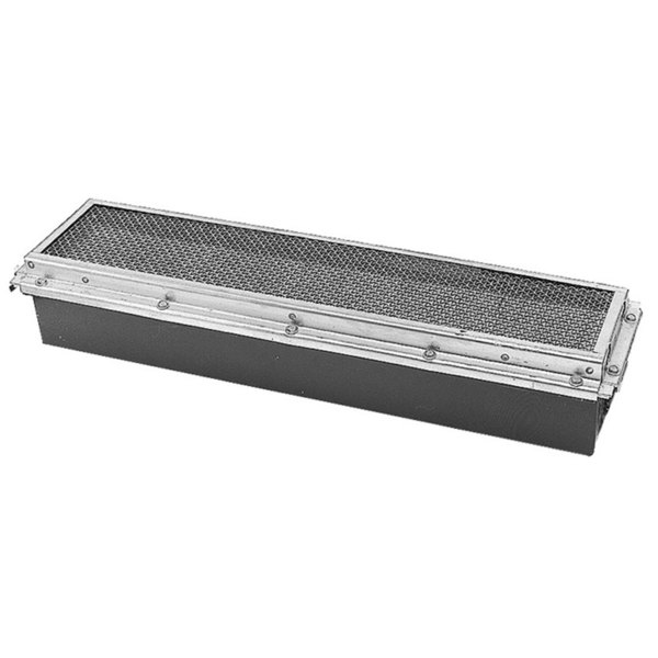 "Garland / US Range 1008897 Equivalent 19"" x 5"" Infrared Steel / Ceramic Broiler Burner - No Venturi"
