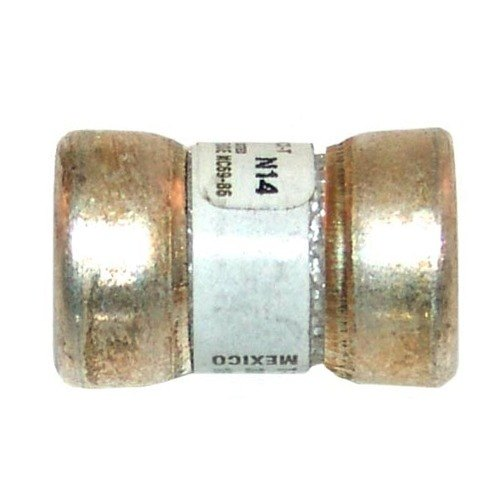 """All Points 38-1053 9/16"""" x 7/8"""" 35 Amp Very Fast Acting T-Tron Space Saver Fuse - 300V Main Image 1"""