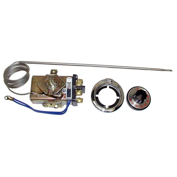 "Vulcan 804746 Equivalent Thermostat; Type D1/D18; Temperature 100 - 450 Degrees Fahrenheit; 60"" Capillary"