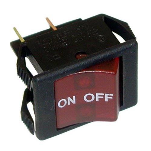 All Points 42-1412 On/Off Lighted Rocker Switch - 16A/250V, 20A/125V Main Image 1