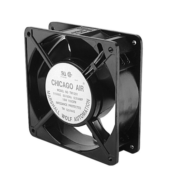 """Victory 50870101 Equivalent 4 11/16"""" x 4 11/16"""" Axial Fan - 115V"""