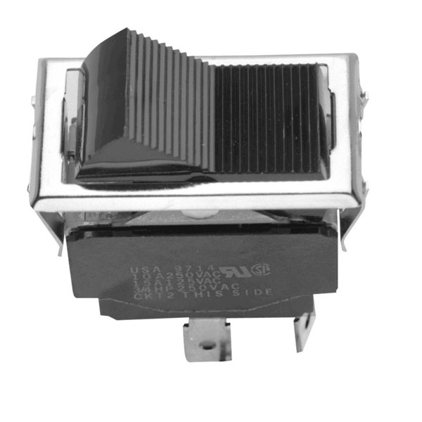 All Points 42-1252 Momentary On/Off Rocker Switch - 15A/125V, 10A/250V Main Image 1