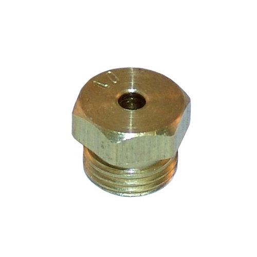 "All Points 26-1625 Brass Burner Orifice; #40; Natural Gas; 11/32""-32 Thread Main Image 1"