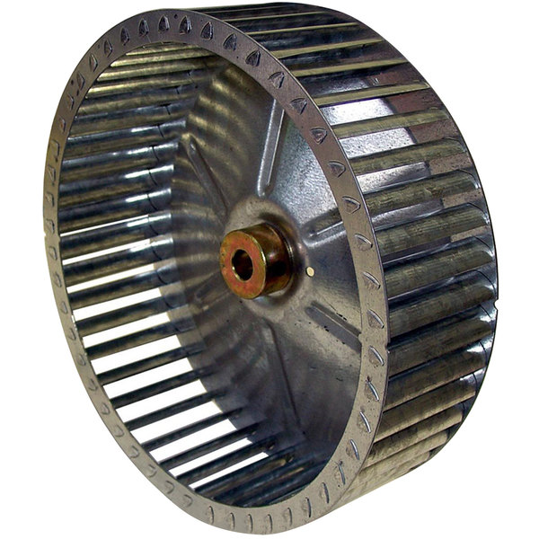 "Garland / US Range 1765704 Equivalent Blower Wheel - 8 1/2"" x 2 1/8"", Counterclockwise"