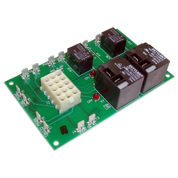 "All Points 44-1255 Oven Relay Board; 3 1/2"" x 5 1/2""; 277V"
