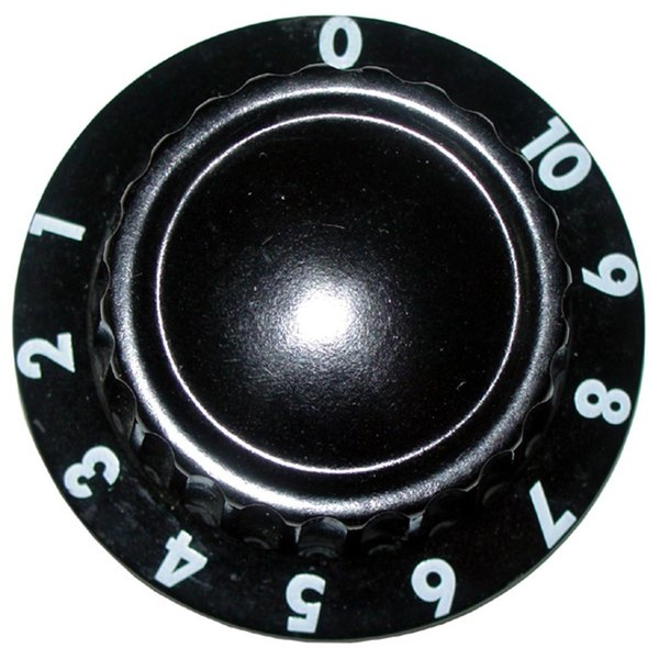"""All Points 22-1219 2"""" Gas Valve / Warmer Thermostat Dial (0-10)"""