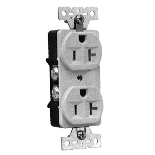 All Points 38-1277 Duplex Receptacle; NEMA 5-20R