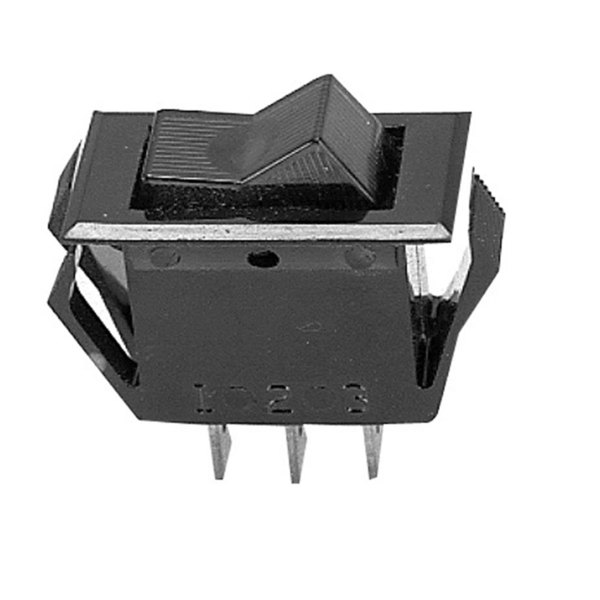 All Points 42-1160 On/Off/On Rocker Switch - 15A/125V, 10A/250V Main Image 1