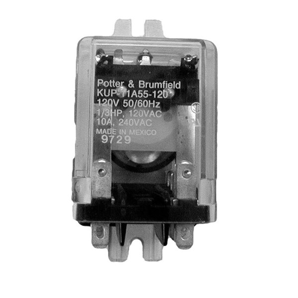 Lincoln 51142SP Equivalent 4-Pole Toaster Relay; 240V