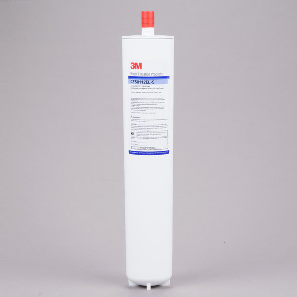 """3M Water Filtration Products CFS8112EL-S 17 1/8"""" Replacement Sediment, Chlorine Taste and Odor Reduction Cartridge with Scale Inhibition - 1 Micron and 1.67 GPM"""