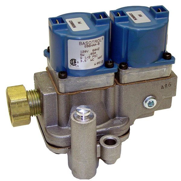 """All Points 54-1096 Dual Solenoid Valve; 1/2"""" FPT; 120V"""