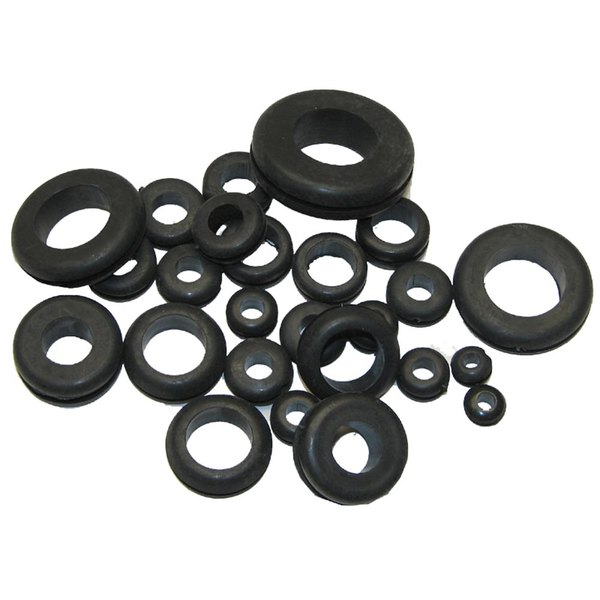 All Points 85-1153 Assorted Vinyl Grommets - 25/Pack