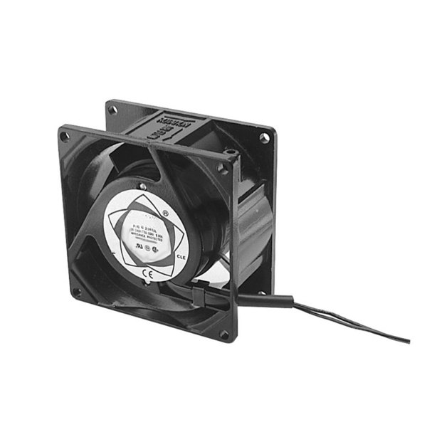 """APW Wyott 85281 Equivalent Axial Cooling Fan 3 1/8"""" x 1 1/2""""; 230V; 3000 RPM"""