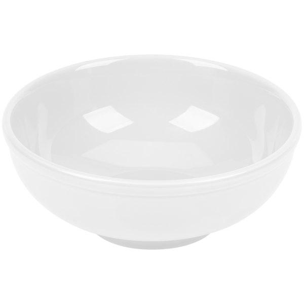 CAC MB-7 Festiware Salad / Pasta Bowl 25 oz. - Super White - 24/Case Main Image 1