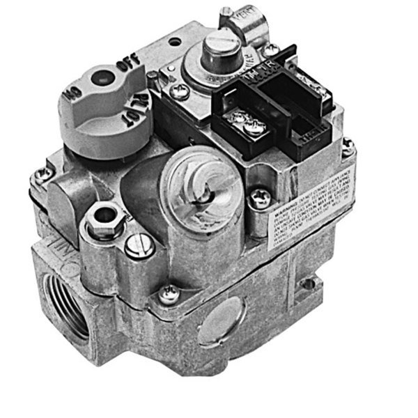"All Points 54-1028 Type BMSER Gas Safety Valve; Natural Gas; 1/2"" Gas In / Out; 1/4"" Pilot Out; 24VAC or 12VDC Actuator"
