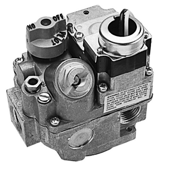 "Henny Penny 58848 Equivalent Type BER-120 Gas Safety Valve; Natural Gas; 3/4"" Gas In / Out; 1/4"" Pilot Out; 120VAC Actuator"