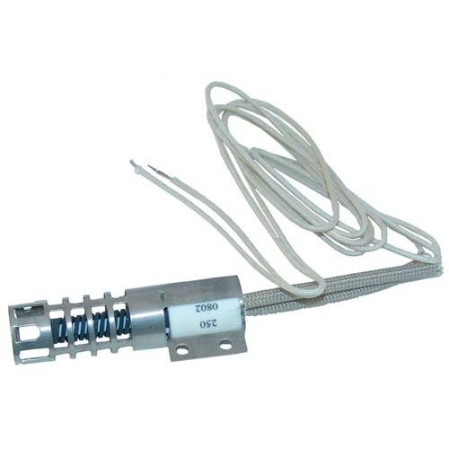 Market Forge S10-8259 Equivalent Carborundum Igniter with Wire Leads and Bracket - 120V Main Image 1