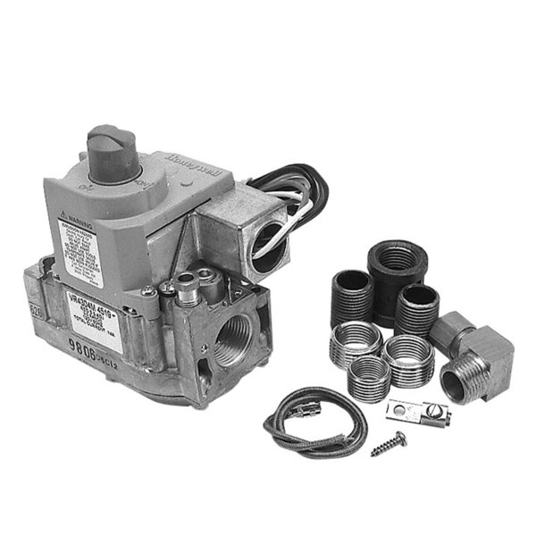 """Blodgett 21074 Equivalent Gas Safety Valve; Natural Gas; 1/2"""" Gas In / Out; With LP Conversion Kit Main Image 1"""