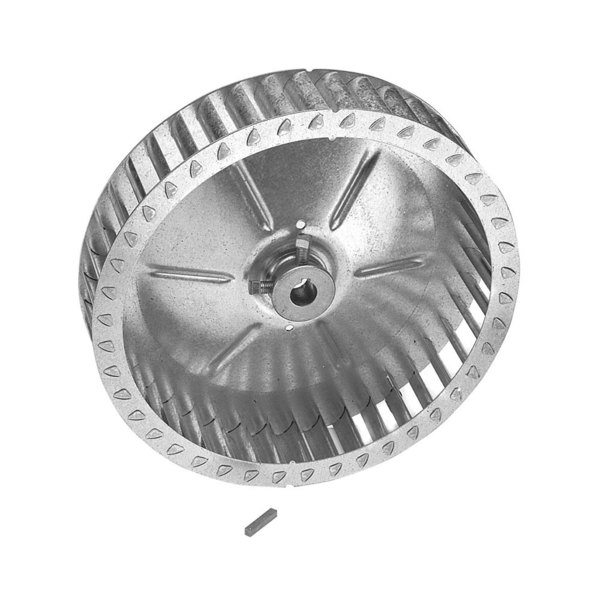 "Hobart 342205-3 Equivalent Blower Wheel - 9 7/8"" x 2 5/8"", Counterclockwise"