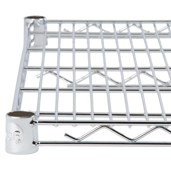 """Regency 18"""" x 30"""" NSF Chrome Wire Shelf"""
