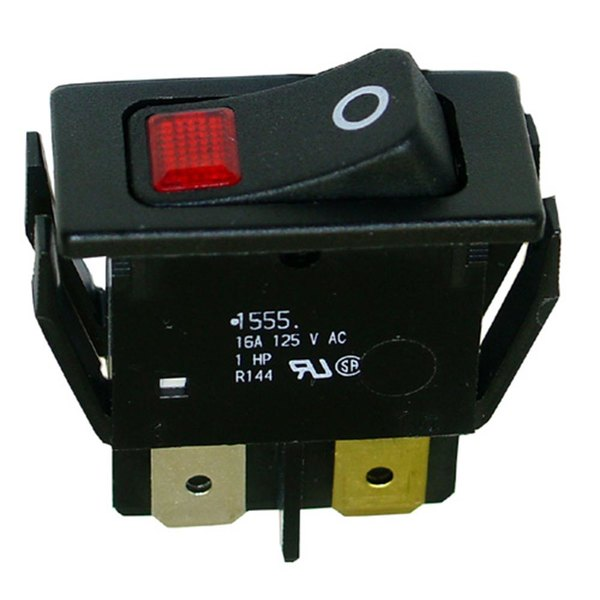 All Points 42-1459 On/Off Lighted Rocker Switch - 16A/125V