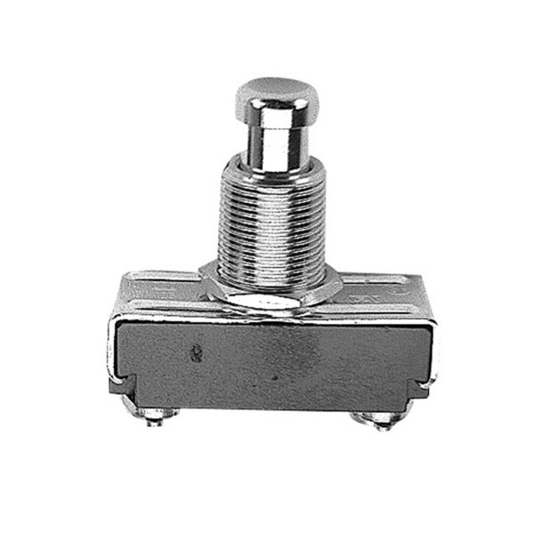 All Points 42-1016 Off/Momentary On Push-In Switch - 15A/125V, 10A/250V