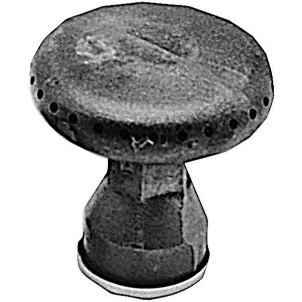 "Component Hardware G22-4310 Equivalent 3"" Cast Iron Mushroom Burner (NAT/LP) - 5,000 BTU"