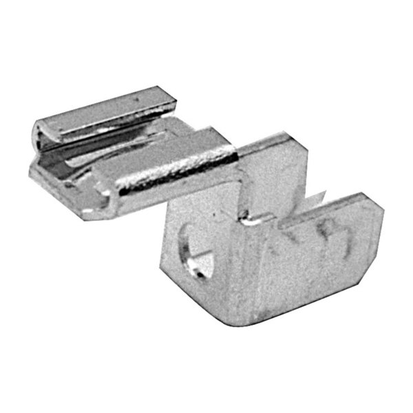 "All Points 85-1046 Solderless Terminal Connector; 1/4"" ""Chair"" Shape - 10/Pack"