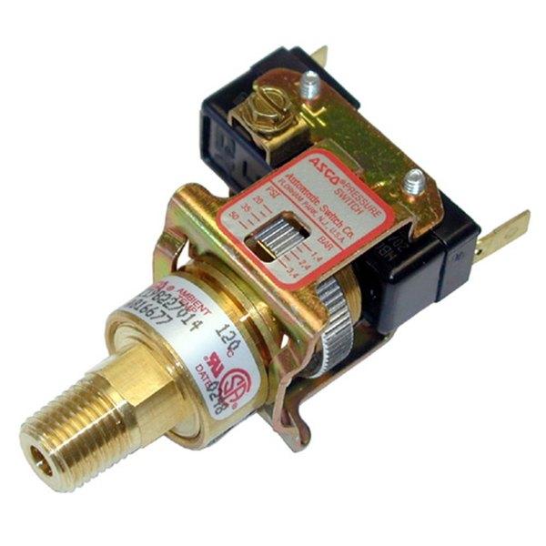 Asco HZ19B227014 Equivalent Steam Pressure Control Switch - 20-50 PSI