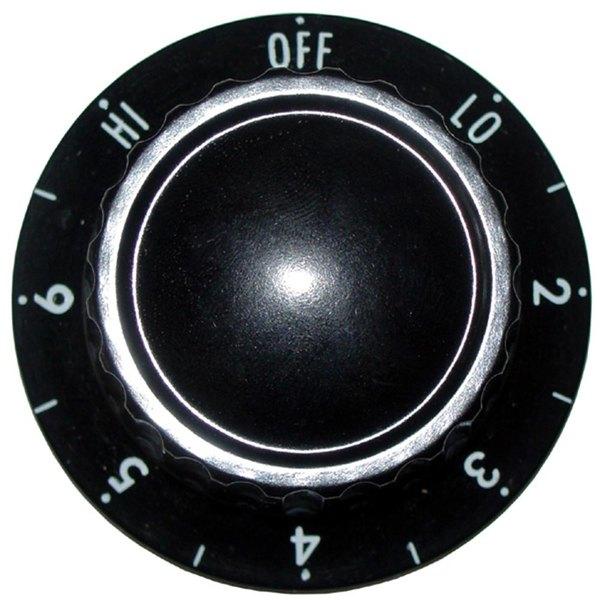 "All Points 22-1166 2"" Infinite Switch Knob (Off, Lo, 2-6, Hi)"