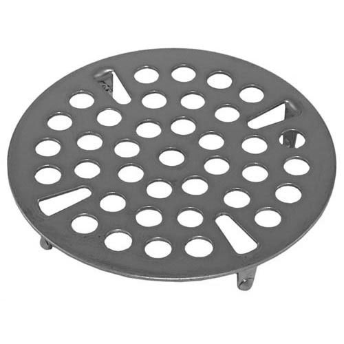"""Component Hardware D10-X013 Equivalent Waste Drain Flat Strainer; for 3"""" Sink Opening"""