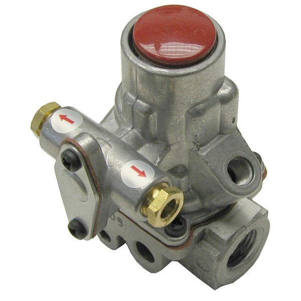 "All Points 54-1111 Gas Safety Valve; Natural Gas / Liquid Propane; 3/8"" Gas In / Out; 1/4"" Pilot In / Out"
