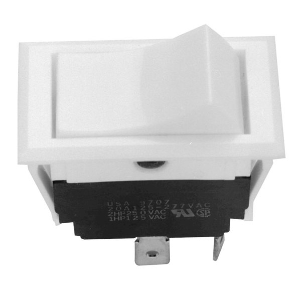 All Points 42-1329 On/On Rocker Switch - 15A/125V, 10A/250V Main Image 1